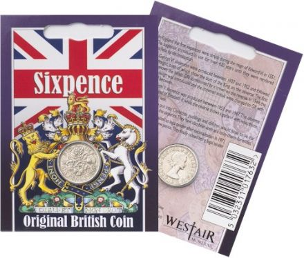 Sixpence Coin Pack -